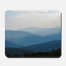 Blue Smokey Mountains #02 Mousepad