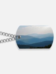Blue Smokey Mountains #02 Dog Tags