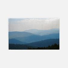 Blue Smokey Mountains #02 3'x5' Area Rug