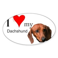 Ilovemydachshund Decal