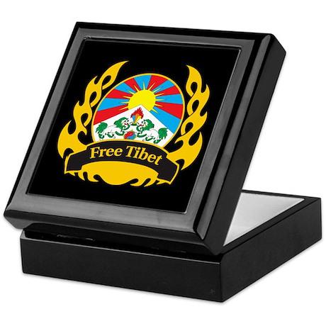Flame Free Tibet Keepsake Box