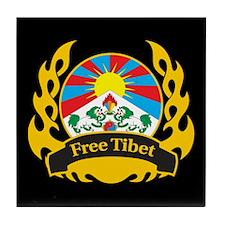 Flame Free Tibet Tile Coaster