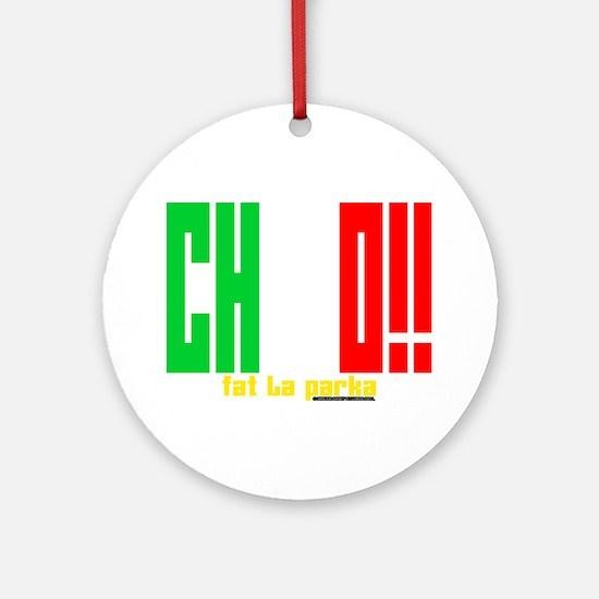 Chico!! Round Ornament