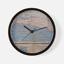 OmahaBeachWest Wall Clock