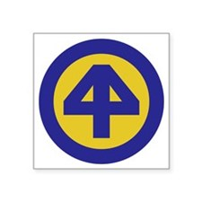"""44th Infantry Division Square Sticker 3"""" x 3"""""""