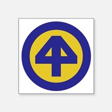 "44th Infantry Division Square Sticker 3"" x 3"""