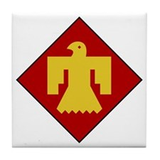 45th Infantry Division Tile Coaster