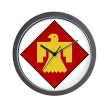 45th Infantry Division Wall Clock