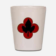 43rd Infantry Division Shot Glass