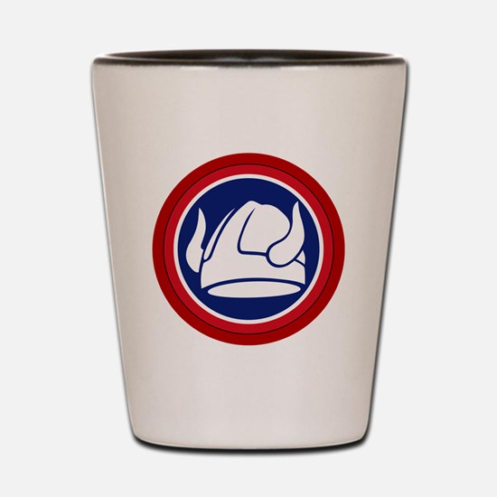 47th Infantry Division Shot Glass