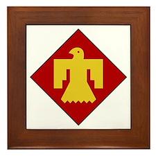 45th Infantry Division Framed Tile