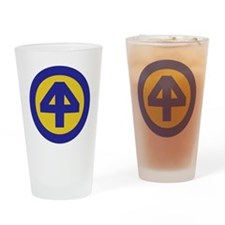 44th Infantry Division Drinking Glass