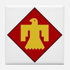 45th Infantry Division Tile Coaster