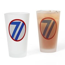 71st Infantry Division Drinking Glass
