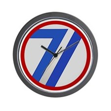 71st Infantry Division Wall Clock