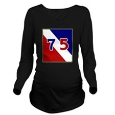75th Infantry Divisi Long Sleeve Maternity T-Shirt