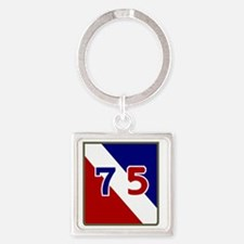 75th Infantry Division Square Keychain
