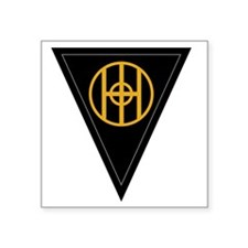 "83rd Infantry Division Square Sticker 3"" x 3"""
