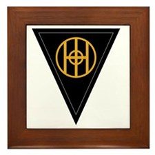 83rd Infantry Division Framed Tile
