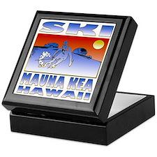 SKI MAUNA KEA Keepsake Box