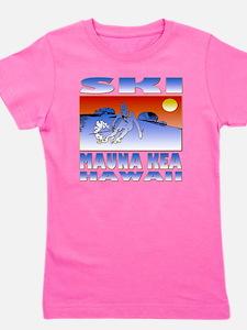 SKI MAUNA KEA Girl's Tee