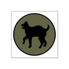 "81st Infantry Division Square Sticker 3"" x 3"""