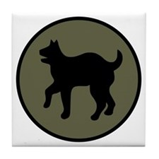 81st Infantry Division Tile Coaster
