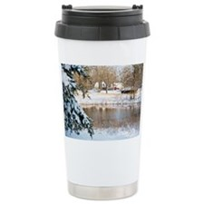 20080308_snowDay_0319_homePondS Travel Mug