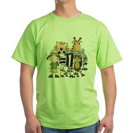 safarigirl Green T-Shirt