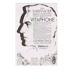 John Barrymore Gen. Crack Postcards (Package of 8)