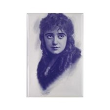 Mabel Normand 1915 Rectangle Magnet