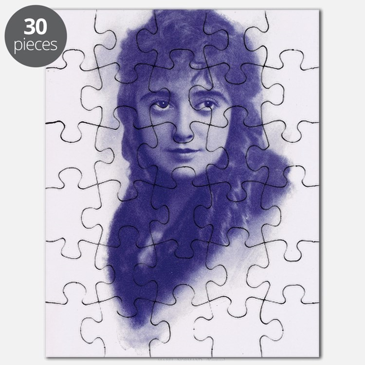 Mabel Normand 1915 Puzzle