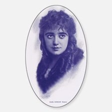 Mabel Normand 1915 Sticker (Oval)