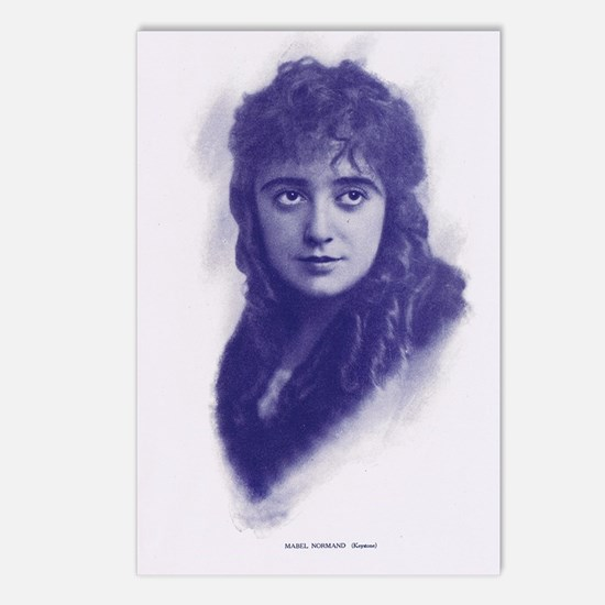 Mabel Normand 1915 Postcards (Package of 8)