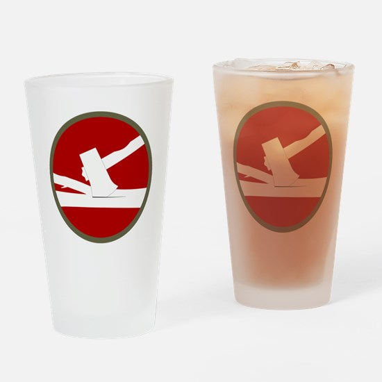 84th Infantry Division Drinking Glass