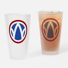 89th Infantry Division Drinking Glass