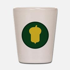 87th Infantry Division Shot Glass
