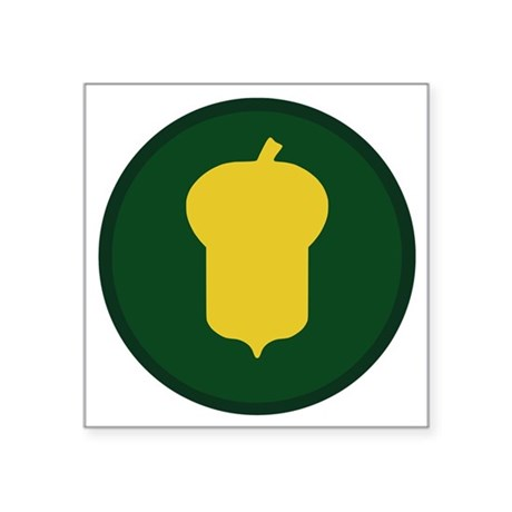 "87th Infantry Division Square Sticker 3"" x 3"""
