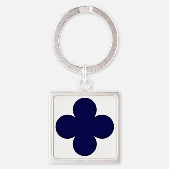 88th Infantry Division Square Keychain