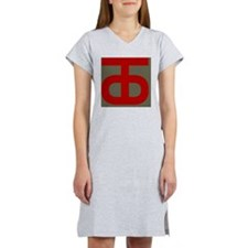 90th Infantry Division Women's Nightshirt