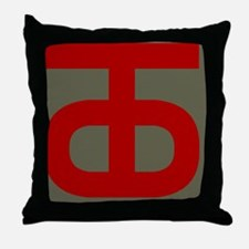 90th Infantry Division Throw Pillow