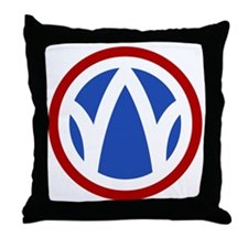89th Infantry Division Throw Pillow