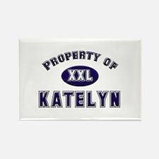 Property of katelyn Rectangle Magnet