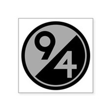 "94th Infantry Division Square Sticker 3"" x 3"""