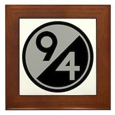 94th Infantry Division Framed Tile
