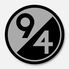 94th Infantry Division Round Car Magnet