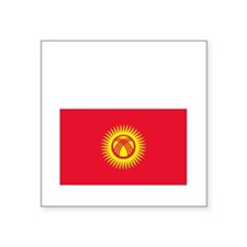 "Kyrgyz_New-Dark Square Sticker 3"" x 3"""