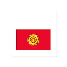 """Kyrgyz_New-Dark Square Sticker 3"""" x 3"""""""