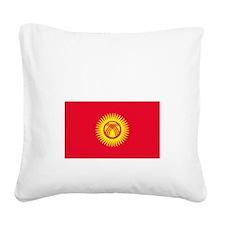 Kyrgyz_New-Dark Square Canvas Pillow