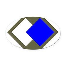 96th Infantry Division Oval Car Magnet